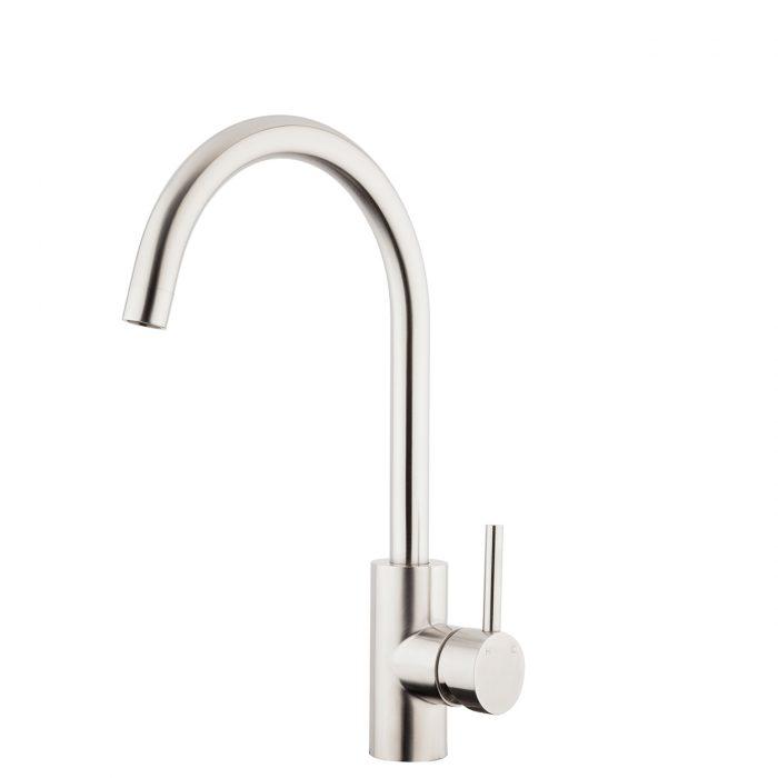FORENO E-STEEL Minimal Gooseneck Sink Mixer (ESS010)