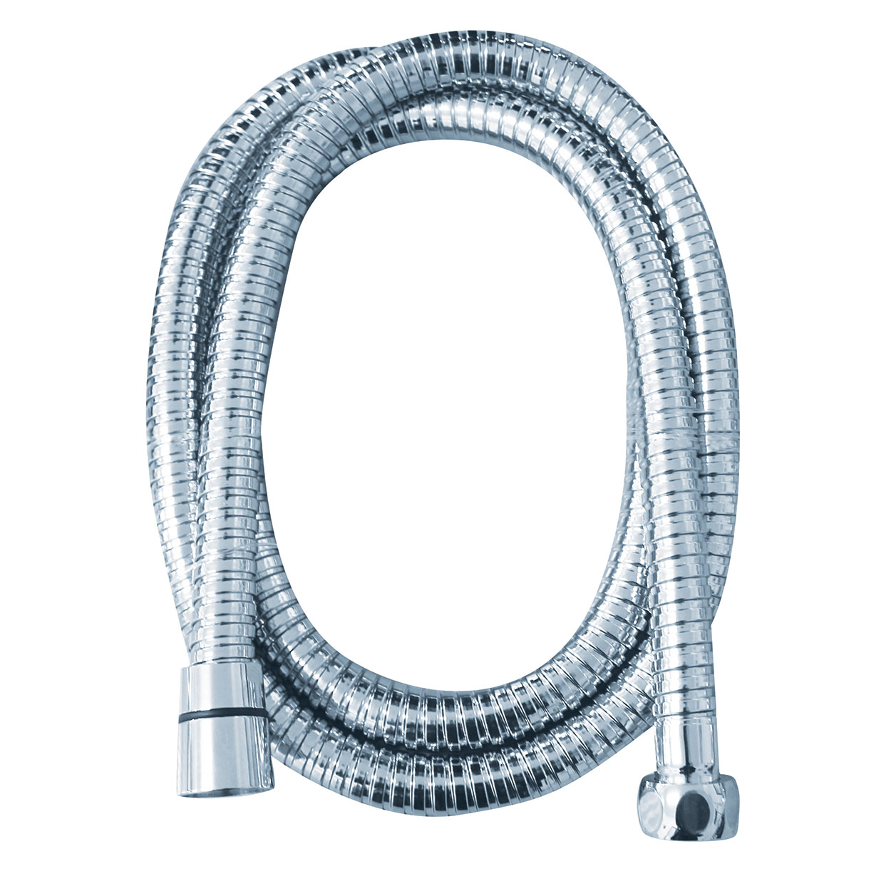 FORENO. Big Bore Shower Hose - Chrome (FORPT12)