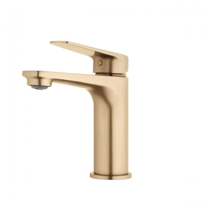 FORENO. NORTH Basin Mixer | Brushed Brass (NRT20BB)