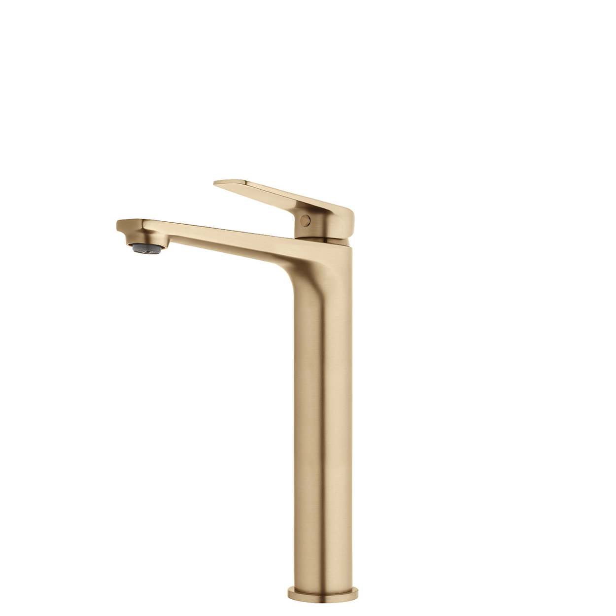 FORENO NORTH High Rise Basin Mixer | Brushed Brass (NRT22BB)
