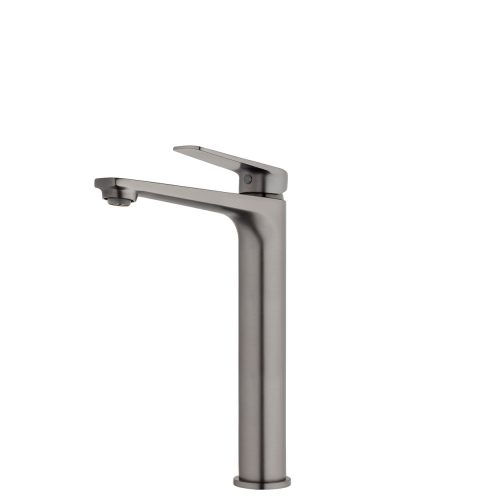 FORENO NORTH High Rise Basin Mixer | Brushed Gunmetal (NRT22BG)