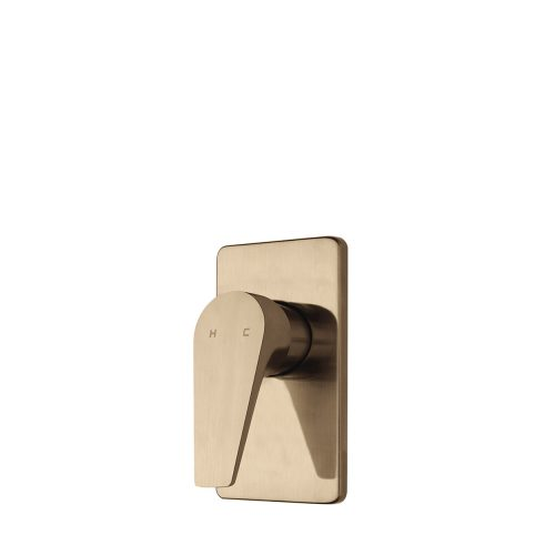 FORENO NORTH Shower Mixer | Brushed Brass (NRT30BB)