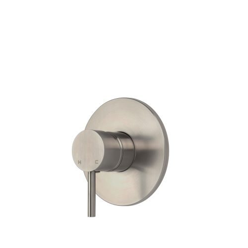 FORENO PURITY Minimal Equaliser Shower Mixer | Stainless Steel (PUR033)