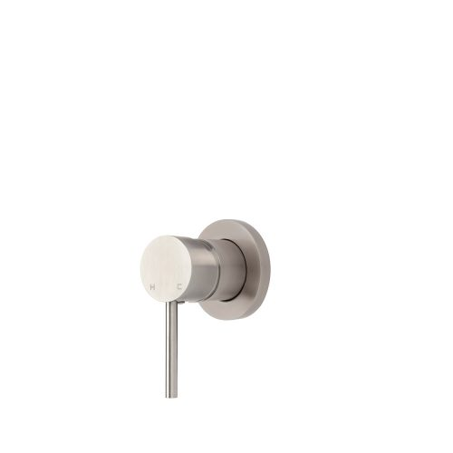 FORENO PURITY Ultra Minimal Shower Mixer   Stainless Steel (PUR034)