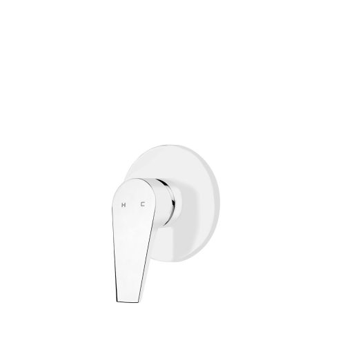 FORENO SOLITAIRE Shower Mixer | White (SLT031)